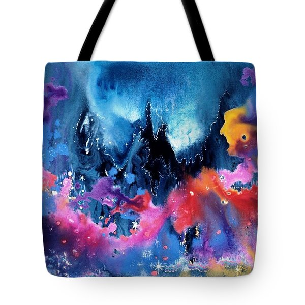 Elijah's Dream Tote Bag by Lee Pantas