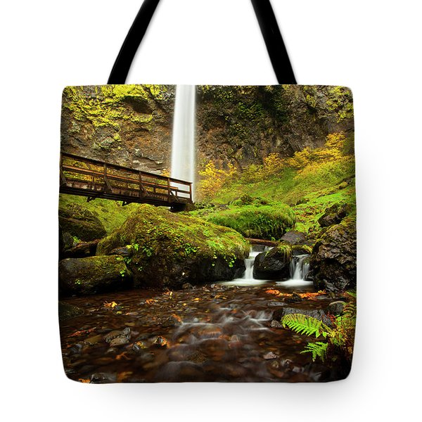 Elowah Perspective Tote Bag by Mike  Dawson