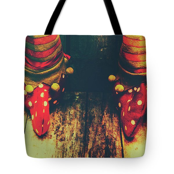 Elves And Feet Tote Bag by Jorgo Photography - Wall Art Gallery