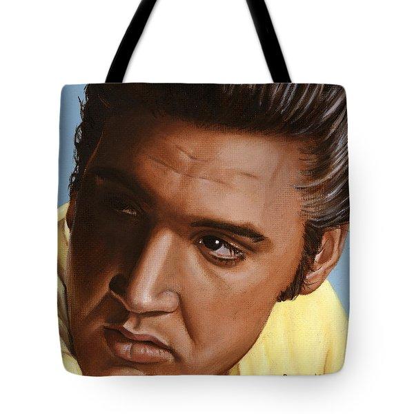 Elvis 24 1956 Tote Bag by Rob De Vries