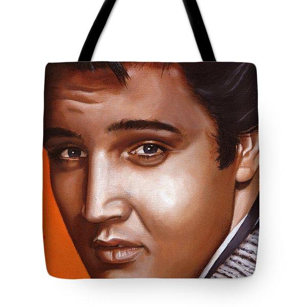 Elvis 24 1957 Tote Bag by Rob De Vries