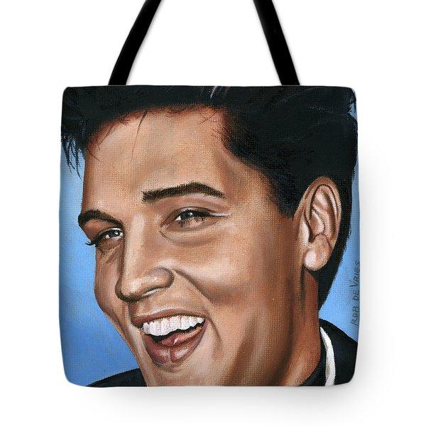 Elvis 24 1960 Tote Bag by Rob De Vries