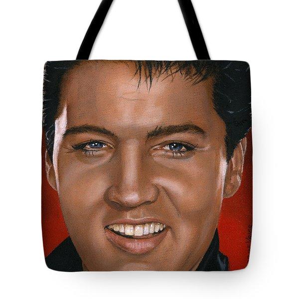 Elvis 24 1964 Tote Bag by Rob De Vries
