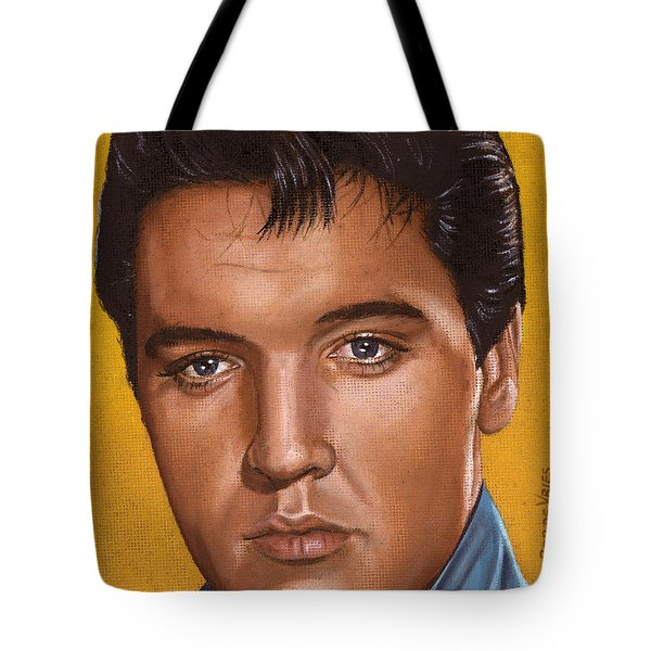 Elvis 24 1965 Tote Bag by Rob De Vries