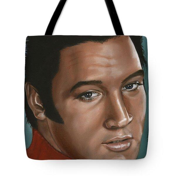 Elvis 24 1968 Tote Bag by Rob De Vries