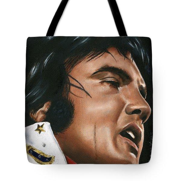 Elvis 24 1974 Tote Bag by Rob De Vries