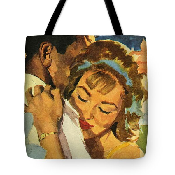 Embrace Tote Bag by English School