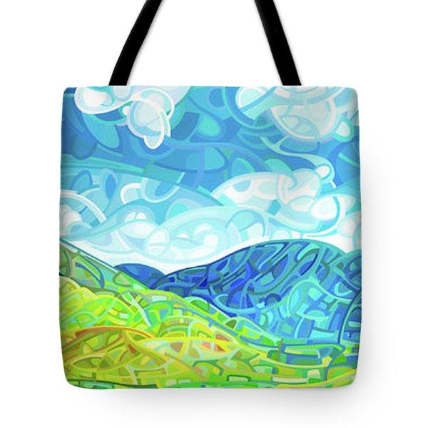 Emerald Moments Tote Bag by Mandy Budan