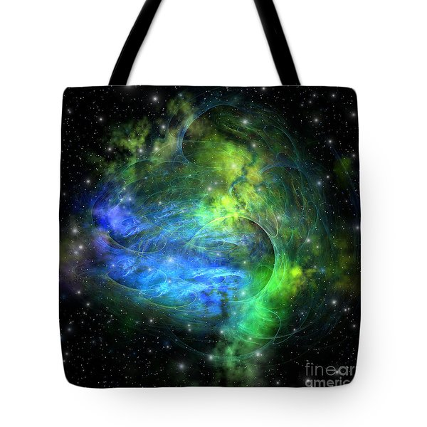 Emission Nebula Tote Bag by Corey Ford
