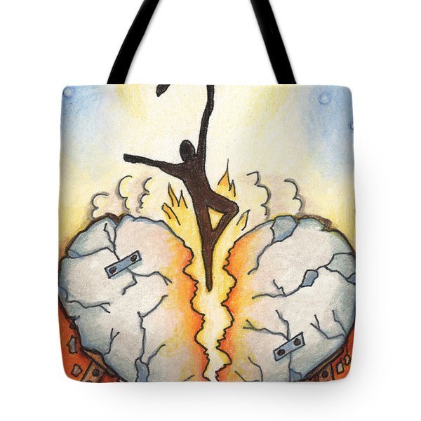 Emotional Rescue Tote Bag by Amy S Turner