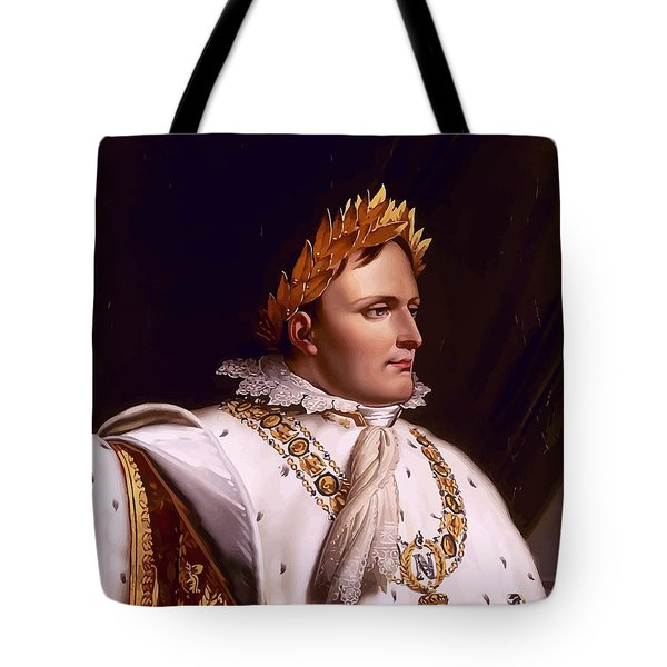 Emperor Napoleon Bonaparte  Tote Bag by War Is Hell Store