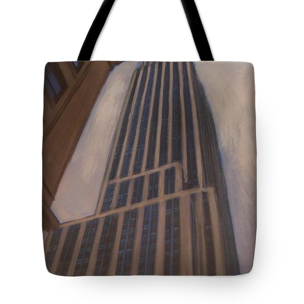 Empire State Building 1 Tote Bag by Anita Burgermeister