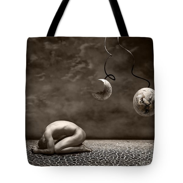 Emptiness Tote Bag by Photodream Art