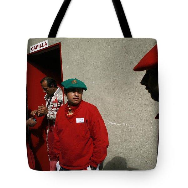 En Capilla Tote Bag by Rafa Rivas