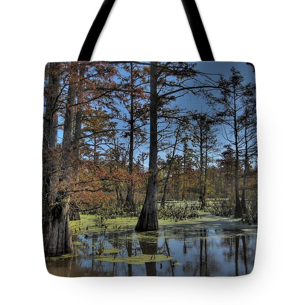 Enchanted Forest Tote Bag by Jane Linders