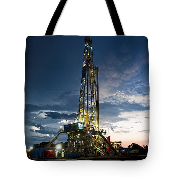 End Of The Hitch Tote Bag by Jonas Wingfield