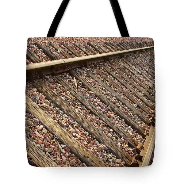 End of the Tracks Tote Bag by James BO  Insogna