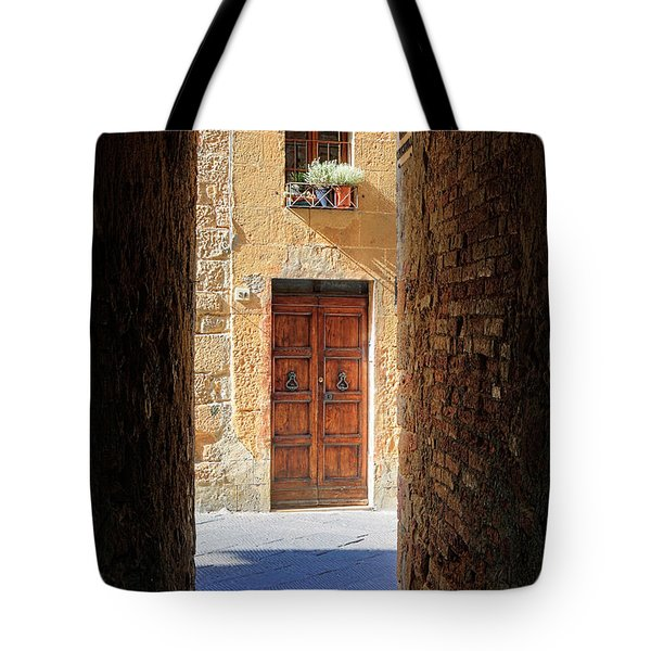 End Of The Tunnel Tote Bag by Inge Johnsson