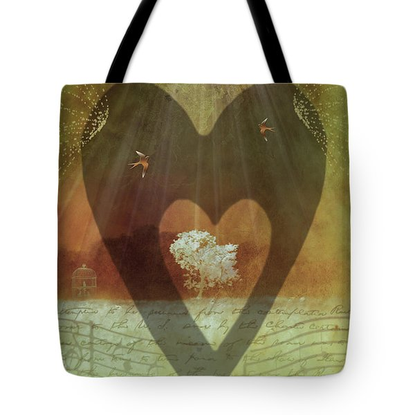 Endless Love Tote Bag by Holly Kempe