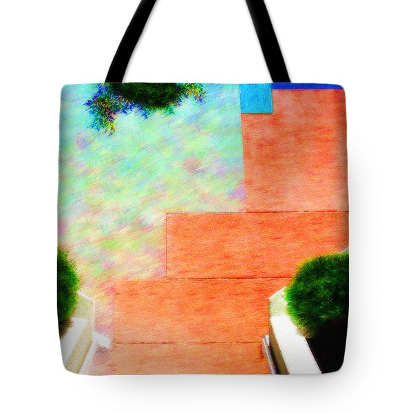 Enter My Dream Tote Bag by Paul Wear