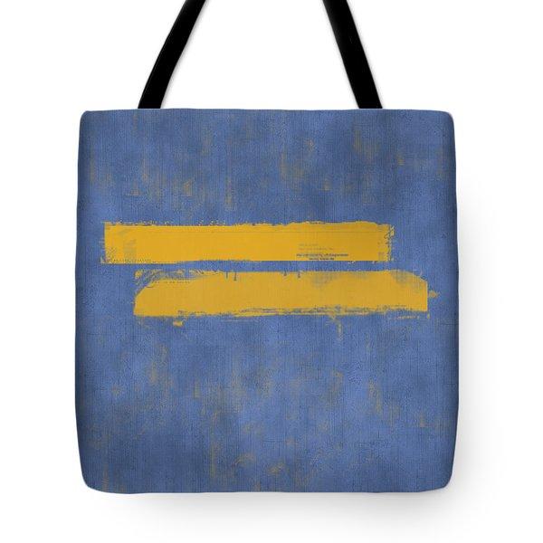 Equal Tote Bag by Julie Niemela
