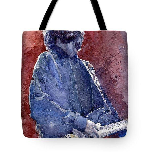 Eric Clapton 04 Tote Bag by Yuriy  Shevchuk
