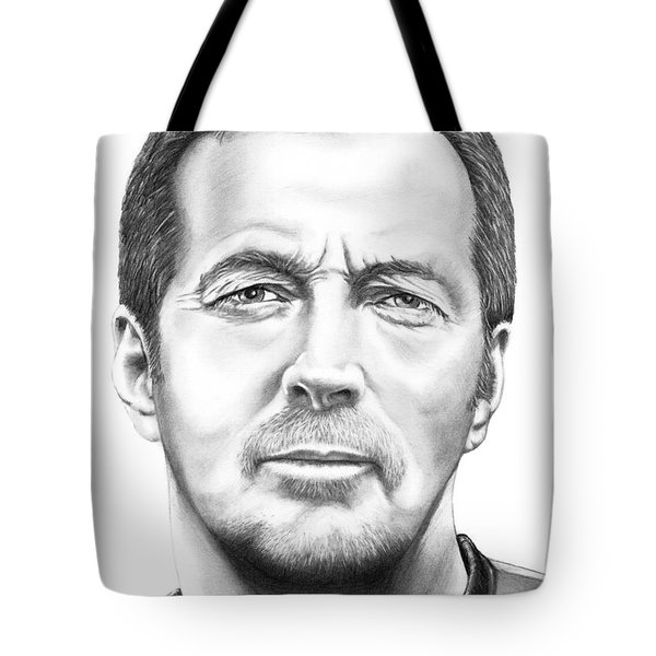 Eric Clapton Tote Bag by Murphy Elliott