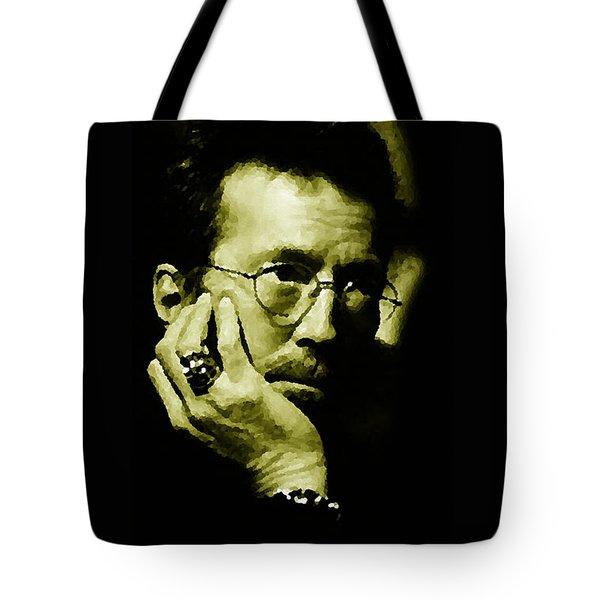 Eric Clapton Tote Bag by Plamen Petkov