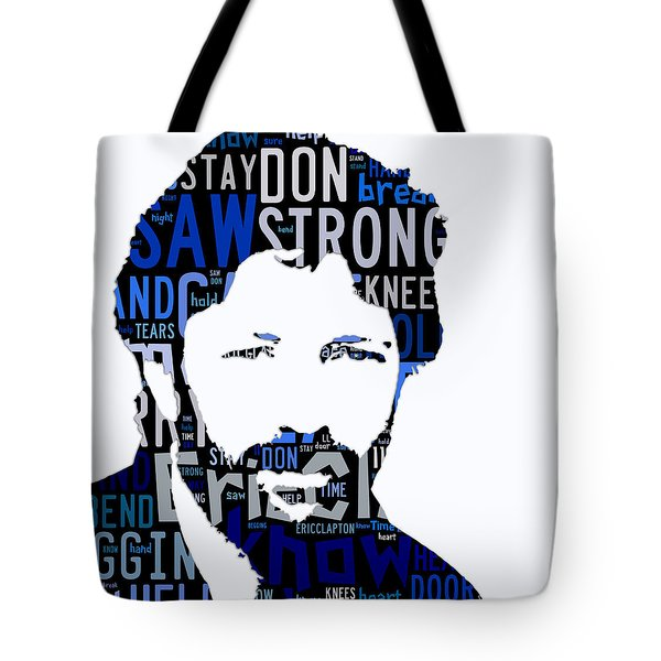 Eric Clapton Tears In Heaven Tote Bag by Marvin Blaine