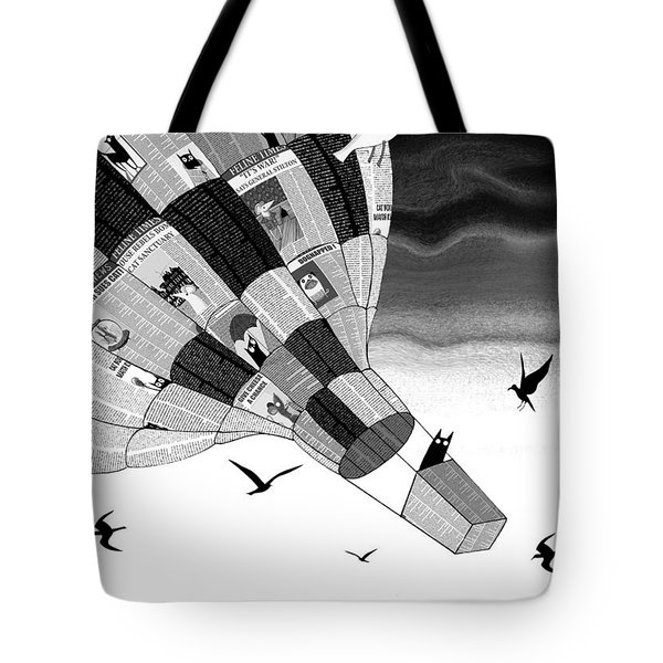 Escape Tote Bag by Andrew Hitchen