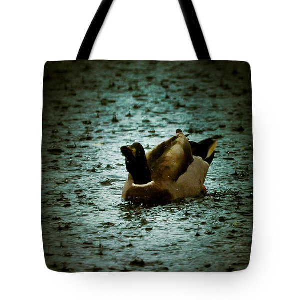 Escaping the Rain Tote Bag by Loriental Photography
