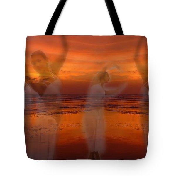 Eternal Dance Tote Bag by Jeff Breiman