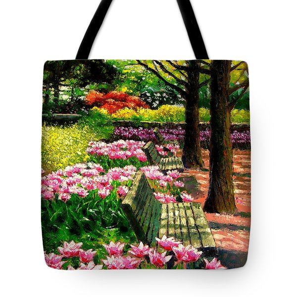 Eternal Spring Tote Bag by John Lautermilch