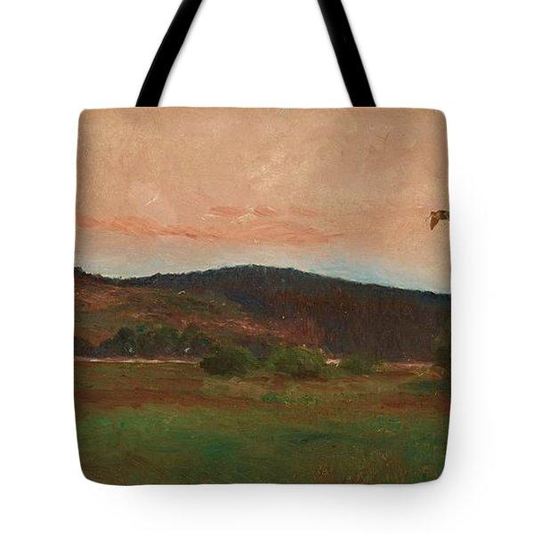 Eurasian Woodcocks Tote Bag by MotionAge Designs