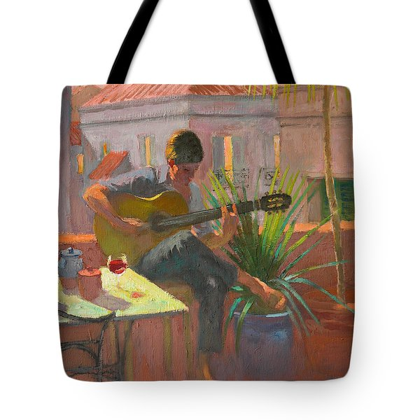 Evening Rooftop Tote Bag by William Ireland