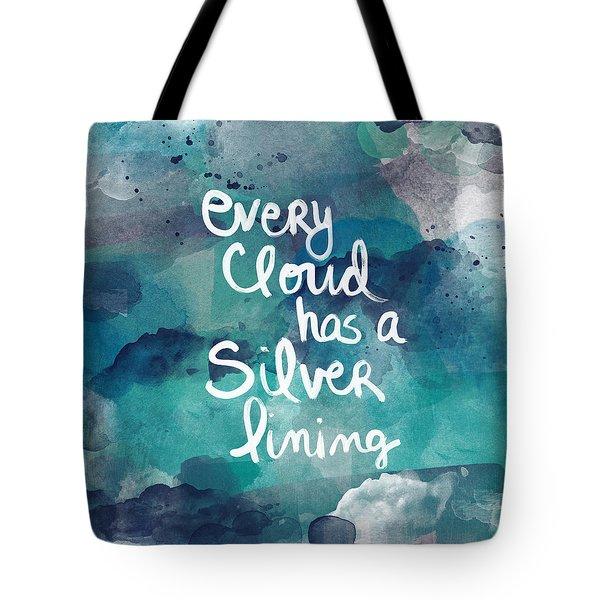 Every Cloud Tote Bag by Linda Woods