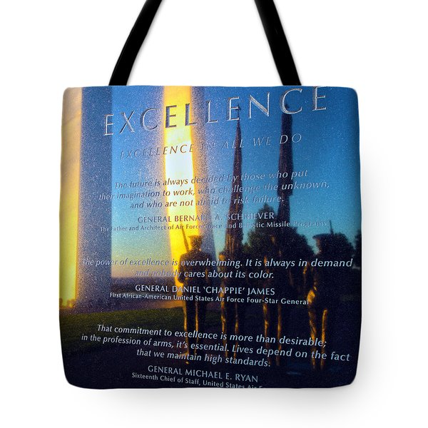 Excellence Tote Bag by Mitch Cat