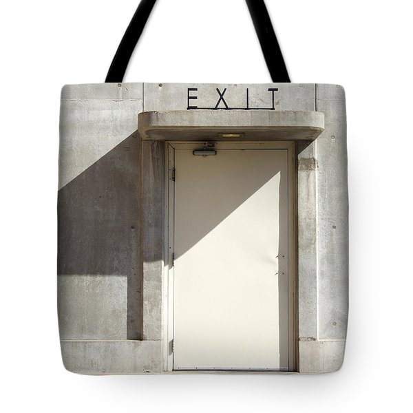 EXIT Tote Bag by Mike McGlothlen