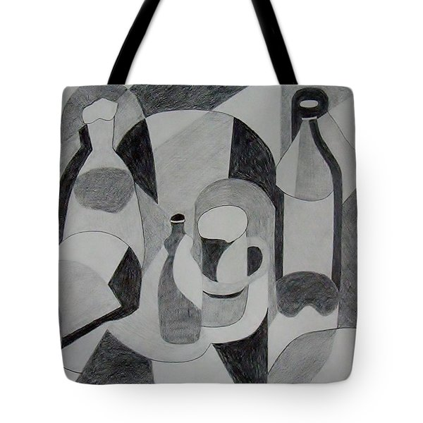 Extended Line Tote Bag by Jamie Frier