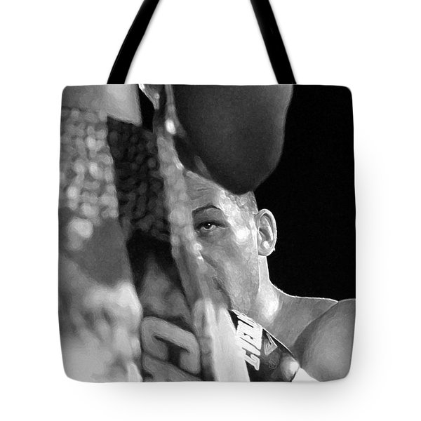 Eye Of The Tiger Tote Bag by David Lee Thompson