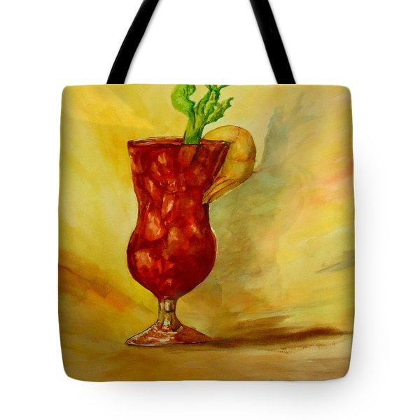 Eye Opener Tote Bag by Jacquie King