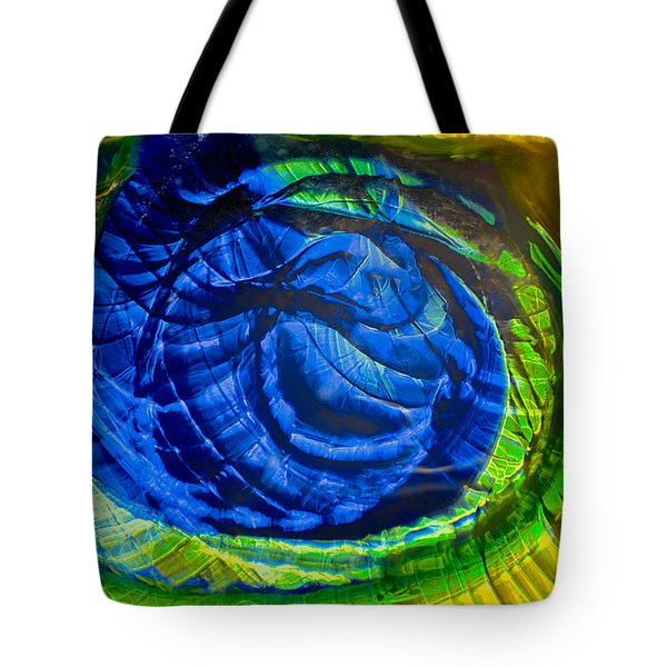 Eyeing a Storm Tote Bag by Omaste Witkowski
