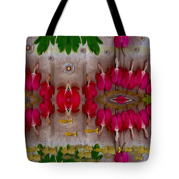Eyes Made Of The Nature Tote Bag by Pepita Selles