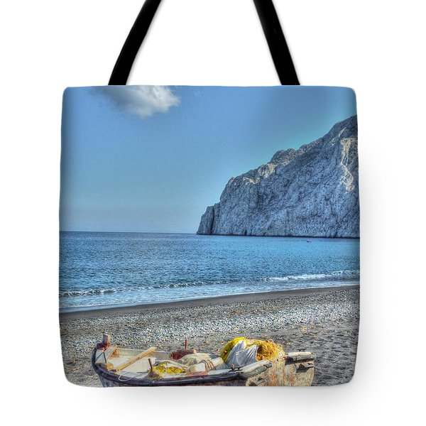 Faded Beauty Tote Bag by Michael Garyet