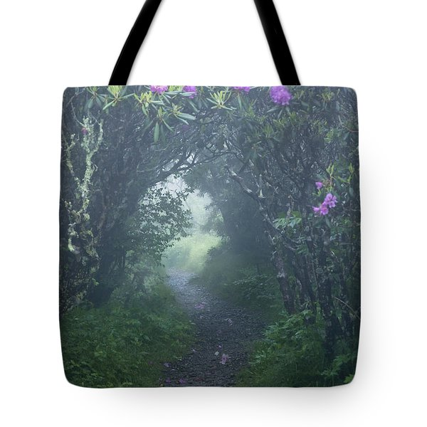 Fairy Path Tote Bag by Rob Travis