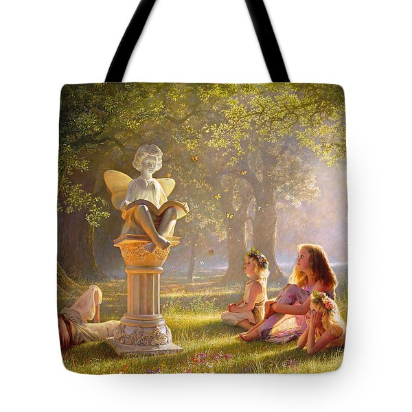 Fairy Tales  Tote Bag by Greg Olsen