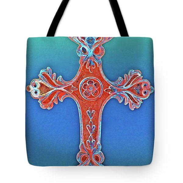 Faith Tote Bag by Gwyn Newcombe