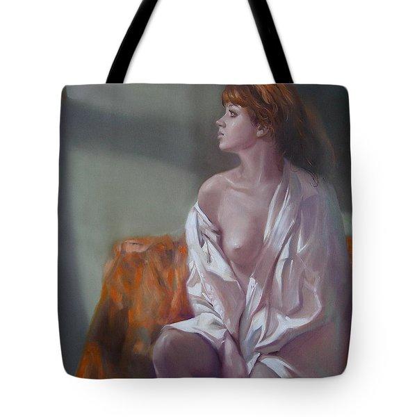 Faith Tote Bag by Sergey Ignatenko