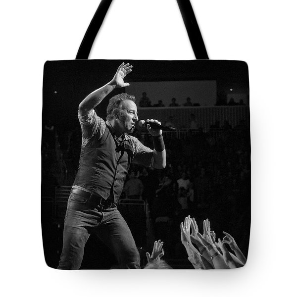 Faith Will Be Rewarded Tote Bag by Jeff Ross