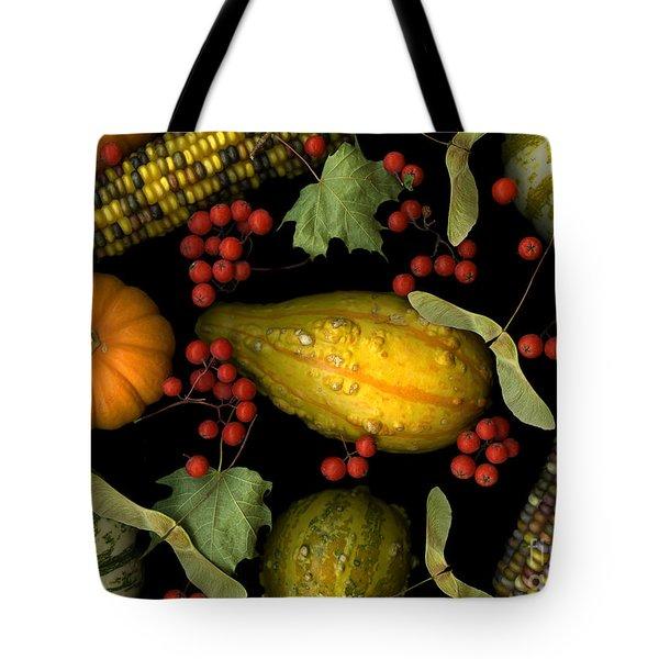 Fall Harvest Tote Bag by Christian Slanec